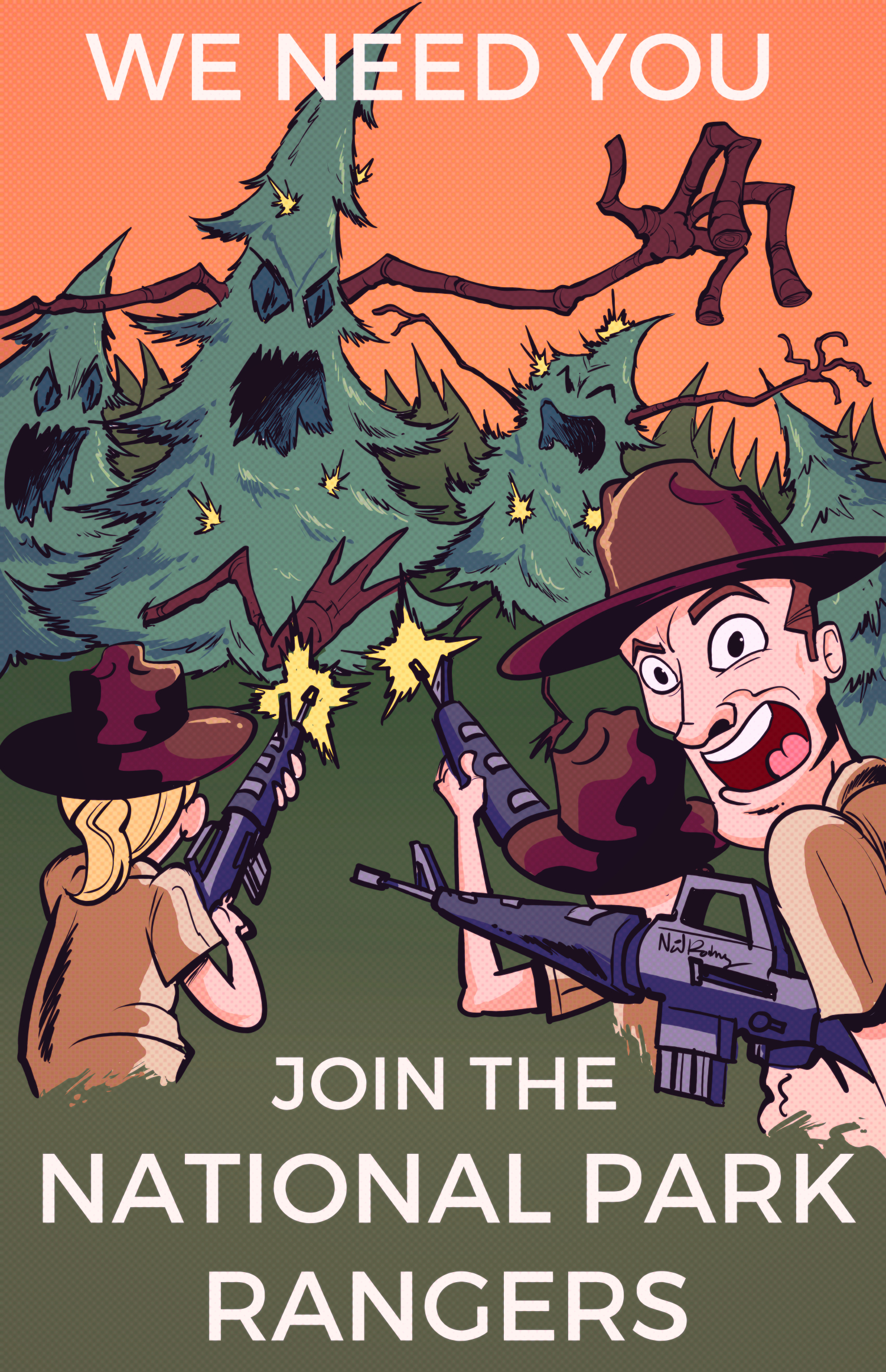 This is a 100% accurate representation of what park rangers do